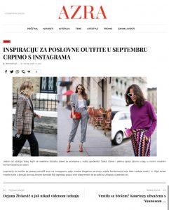 Inspiraciju za poslovne outfite u septembru crpimo s Instagrama - azra ba - 2018 09 05 - Alexandra Lapp - found on https://www.azra.ba/lifestyle/moda/102186/inspiraciju-za-poslovne-outfite-u-septembru-crpimo-s-instagrama/