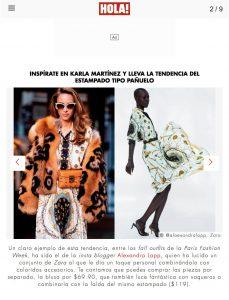 Inspirate en Karla Martinez y lleva la tendencia del estampado tipo panuelo - us hola com - 2018 10 16 - Alexandra Lapp - found on https://us.hola.com/moda/galeria/2018101614794/karla-martinez-estampado-panuelo-vv/2/?viewas=amp