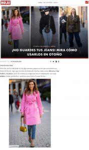 Jeans para el otono ideas para lucirlos con estilo - Foto 1 - us.hola.com - 2019 12 05 - Alexandra Lapp - found on https://us.hola.com/es/moda/galeria/20191205fihiurbcb8/denim-jeans-moda-vv/5