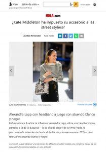 Kate Middleton ha impuesto su accesorio a las street-stylers - msn.com/es-us - 2019 12 - Alexandra Lapp - found on https://www.msn.com/es-us/estilo-de-vida/moda/kate-middleton-ha-impuesto-su-accesorio-a-las-street-stylers/ss-BBX6Bwr?ocid=WidgetStore#image=2