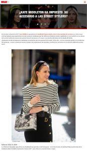 Kate Middleton y los accesorios mas sofisticados las diademas XXL - Foto 1 - us.hola.com/es - 2019 11 21 - Alexandra Lapp - found on https://us.hola.com/es/moda/galeria/2019112129881/kate-middleton-street-stylers-headbands-vv/1/