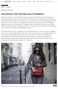 Kelly Rohrbach neue Kampagne Marc Cain - HARPERSBAZAAR de - 2017-12-04 - Alexandra Lapp - found on https://www.harpersbazaar.de/fashion/kelly-rohrbach-marc-cain