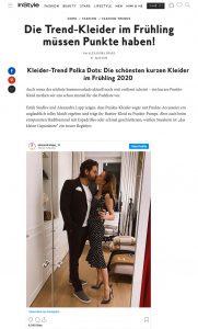 Kleider-Trend: Die schönsten Polka-Dot Kleider für den Frühling - Instyle Germany online - instyle.de - 2020 04 17 - Alexandra Lapp - found onhttps://www.instyle.de/fashion/kleider-trend-polka-dot-fruehling-2020