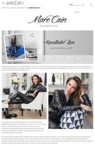 Kunstleder Love - marc-cain.com - 2020 04 - Alexandra Lapp