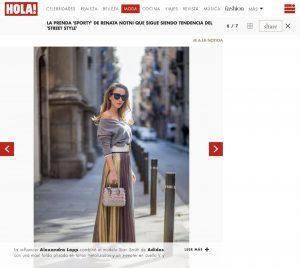 La prenda sporty de Renata Notni que es moda en 2018 Foto 6 - HOLA! us com - 2018 04 26 - Alexandra Lapp - found on https://us.hola.com/moda/galeria/2018042612083/renata-notni-moda-2018-vv/6/