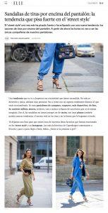 Las sandalias de tiras por encima del pantalon marcan tendencia - ELLE Spain - elle.com/es - 2019 08 24 - Alexandra Lapp - found on https://www.elle.com/es/moda/tendencias/a28536236/sandalias-tiras-pantalon-tendencia-street-style/