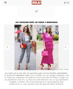 Las shoulder pads de vuelta y renovadas - us hola com - 2018 08 18 - Alexandra Lapp - found on https://us.hola.com/moda/galeria/2018080814053/natalie-portman-fashion-trends-vv/6/?viewas=amp