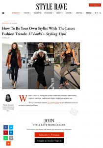 Latest Fashion Trends 2020 And How To Be Your Own Fashion-Stylist - stylerave.com - 2020 10 01 - Alexandra Lapp - found on https://www.stylerave.com/be-your-fashion-stylist-latest-fashion-trends-2020/