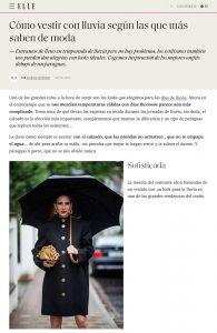 Looks para la lluvia- ELLE Spain online - elle.com/es - 2020 10 20 - Alexandra Lapp - found on https://www.elle.com/es/moda/streetstyle/g23095541/vestir-lluvia-street-style-nyfw/