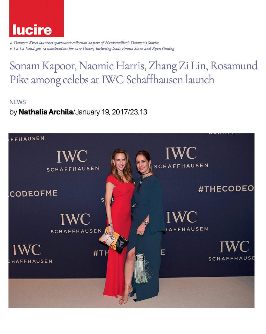 Lucire - Sonam Kapoo, Naomie Harri, Zhang Zi-Lin, Rosamund Pike among celebs at IWC-Schaffhausen launch - Alexandra Lapp - 2017-03 - found on http://lucire.com/insider/20170119/sonam-kapoor-naomie-harris-zhang-zi-lin-rosamund-pike-among-celebs-at-iwc-schaffhausen-launch/#6sm2GixYJQVrgUb7.97