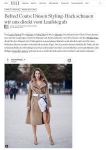 Mäntel trägt man jetzt mit Gürtel - ELLE de - 2017-11-02 - Alexandra Lapp - found on http://www.elle.de/belted-coats-mantel-guertel