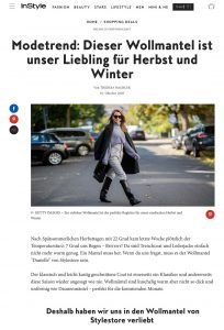 Manteltrend - Dieser Wollmantel von StyleStore ist unser Liebling - InStyle Germany online - instyle.de - 2020 10 01 - Alexandra Lapp - found on https://www.instyle.de/shopping-deals/wollmantel-modetrend-stylestore