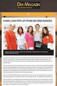 Marc Cain Pop-Up Store bei Breuninger - DEX-Magazin-de - 2018 03 - Alexandra Lapp - found on http://dex-magazin.de/marc-cain-pop-up-store-bei-breuninger