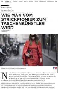 Marc Cain stellt die Taschenkollektion vor - HARPERSBAZAAR de - 2017-12 - Alexandra Lapp - found on https://www.harpersbazaar.de/fashion/marc-cain-taschenkollektion