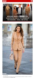 Meghan Markle's asymmetrical toffee dress steal her style - Photo 4 - us.hola.com - 2020 03 29 - Alexandra Lapp - found on https://us.hola.com/fashion/gallery/20200329flvl6i58ss/meghan-markle-camel-toffee-dress-shop-vv/5