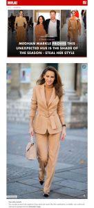 Meghan Markle's asymmetrical toffee dress steal her style - Photo 4 - us.hola.com - 2020 03 29 - Alexandra Lapp - found on https://us.hola.com/fashion/gallery/20200329flvl6i58ss/meghan-markle-camel-toffee-dress-shop-vv/5
