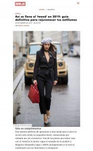 Moda 2019 asi se lleva el tweed si quieres que rejuvenezca - hola com - 2019 02 20 - Alexandra Lapp - found on https://www.hola.com/moda/tendencias/galeria/20190220137710/moda-2019-como-llevar-tweed-look-informal/3/?viewas=amp