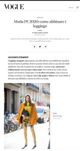 Moda primavera estate 2020 come abbinare i leggings - Vogue Italia - vogue.it - 2020 03 26 - Alexandra Lapp - found on https://www.vogue.it/moda/article/leggings-come-abbinarli