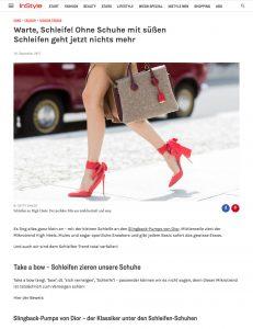 Mode Trend im Herbst 2017 - Schuhe mit Schleifen - InStyle Germany - 2017 09 - Alexandra Lapp - found on http://www.instyle.de/fashion/die-schoensten-schleifenschuhe-fuer-den-herbst