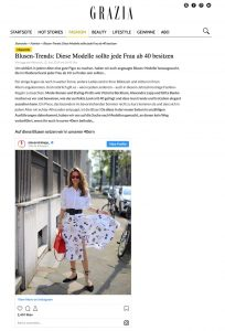 Mode ab 40 - Diese Blusen sollte jede Frau in diesem Alter besitzen - grazia-magazin.de - 2019 06 12 - Alexandra Lapp - found on https://www.grazia-magazin.de/fashion/blusen-trends-diese-modelle-sollte-jede-frau-ab-40-besitzen-39177.html