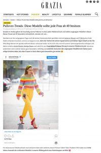 Mode ab 40 - Diese Pullover sollte jede Frau in diesem Alter besitzen - grazia-magazin.de - 2019 09 25 - Alexandra Lapp - found on https://www.grazia-magazin.de/fashion/pullover-trends-diese-modelle-sollte-jede-frau-ab-40-besitzen-43769.html