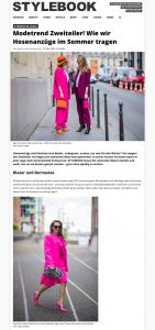 Modetrend Hosenanzug - So werden Zweiteiler jetzt getragen - STYLEBOOK - stylebook.de - 2020 06 15 - Alexandra Lapp - found on https://www.stylebook.de/fashion/zweiteiler-trends