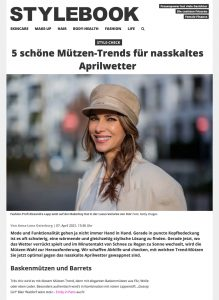 Mützen für Damen: Die schönsten Trends für den Frühling - STYLEBOOK - stylebook.de - 2021 04 21 - Alexandra Lapp - found on https://www.stylebook.de/fashion/accsessoires/muetzen-trend-im-check