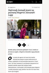 Najtrendy komadi jeseni na poznatoj blogerici Alexandri Lapp - budiin - 2017 05 - Aleandra Lapp - found on http://budiin.24sata.hr/moda/najtrendy-komadi-jeseni-na-poznatoj-blogerici-alexandri-lapp-13230