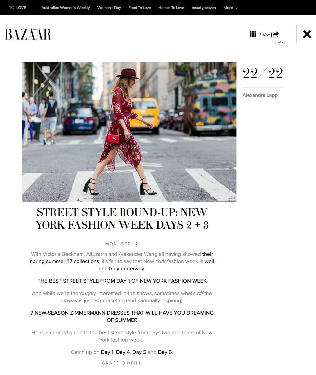 New York Fashion Week SS17 Street Style Day 3 - Image 23 - Harpers BAZAAR - 2016-09 - found on http://www.harpersbazaar.com.au/runway-report/street-style/2016/9/new-york-fashion-week-ss17-street-style-day-3/new-york-fashion-week-ss17-street-style-day-3-image-23/
