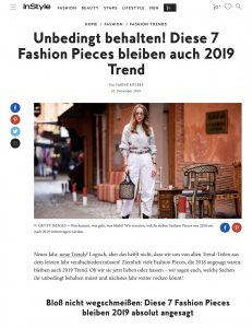 Nicht wegschmeissen - Diese 7 Fashion Pieces bleiben 2019 Trend - instyle.de - 2018 12 25 - Alexandra Lapp - found on https://www.instyle.de/fashion/fashion-pieces-bleiben-2019-trend