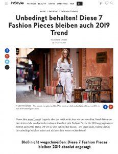 Nicht wegschmeissen - Diese 7 Fashion Pieces bleiben 2019 Trend - instyle.de - 2018 12 25 - Alexandra Lapp - found on https://www.instyle.de/fashion/fashion-pieces-bleiben-2019-trend