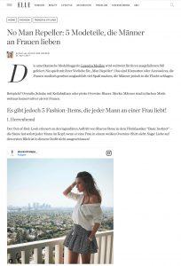 No Man Repeller - 5 Modeteile die Männer an Frauen lieben - ELLE Germany - 2017 09 - Alexandra Lapp - found on http://www.elle.de/5-modeteile-die-maenner-lieben