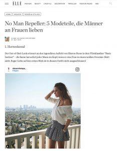 No Man Repeller - 5 Modeteile die Männer an Frauen lieben - ELLE - 2017 05 - Alexandra Lapp - found on http://www.elle.de/5-modeteile-die-maenner-lieben