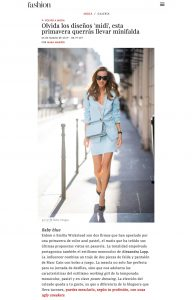 Olvida los disenos midi esta primavera querras llevar minifalda - fashion.hola.com - 2019 03 06 - Alexandra Lapp - found on https://fashion.hola.com/tendencias/galeria/2019030666867/minifalda-look-informal-primavera-zara-sh/2/?viewas=amp