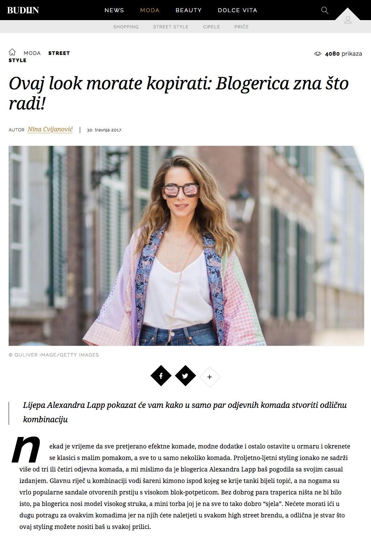Denim fashion 2017 - Press Alexandra Lapp