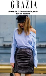 Alexandra Lapp Street Style at Paris Fashion Week 2016 - Found on Grazia Online