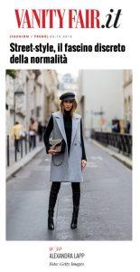 Alexandra Lapp Street Style at Paris Fashion Week 2016 - Found on http://www.vanityfair.it/