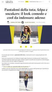 Pantaloni della tuta come indossare i jogger-pants in modo comodo e chic - Grazia Italia online - grazia.it - 2020 04 20 - Alexandra Lapp - found on https://www.grazia.it/moda/get-the-look/pantaloni-tuta-jogger-pants-come-indossare-sneakers-look