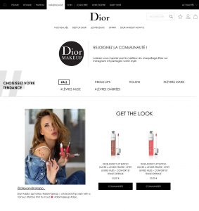 Parfum maquillage soins cosmetiques conseils et expertise beaute par Christian Dior - 2017 06 - Alexandra Lapp - found on https://www.dior.com/beauty/fr_fr/minisite/th/dior_makeup_gallery.html#!