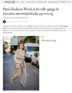 Paris Fashion Week 2019 de mooiste streetstylelooks op een rij- harpersbazaar.com/nl - 2019 09 27 - Alexandra Lapp - found on https://www.harpersbazaar.com/nl/mode-juwelen/g29260848/paris-fashion-week-street-style-2019/