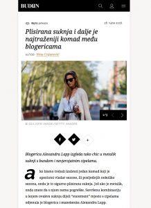 Plisirana suknja i dalje je najtrazeniji komad medu blogericama - budiin - 2017 05 - Alexandra Lapp - found on http://budiin.24sata.hr/moda/plisirana-suknja-i-dalje-je-najtrazeniji-komad-me-u-blogericama-12609