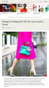 Rebag Expands Beyond Bags Into Accessories - elle.com - 2020 06 17 - Alexandra Lapp - found on https://www.elle.com/fashion/a32894835/rebag-accessories-launch/