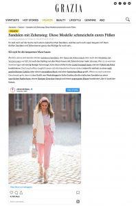 Sandalen mit Zehensteg - SO stylisch sind die Modelle in diesem Sommer - grazia-magazin.de - 2019 05 31 - Alexandra Lapp - found on https://www.grazia-magazin.de/fashion/sandalen-mit-zehensteg-diese-modelle-schmeicheln-euren-fuessen-38595.html