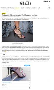 Sandaletten - Diese zauberhaften Modelle tragen wir jetzt - Grazia Magazin Online Germany - 2019 03 15 - Alexandra Lapp - found on https://www.grazia-magazin.de/fashion/sandaletten-diese-angesagten-modelle-tragen-wir-jetzt-35473.html