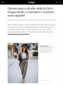 Sandali allacciati sui pantaloni il nuovo trend da It Girl - Stylight - stylight.it - 2019 11 09 - Alexandra Lapp - found on https://www.stylight.it/Magazine/Fashion/Sandali-Allacciati-Sui-Pantaloni/