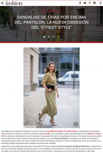 Sandalias de tiras por encima del pantal n la nueva obsesi n del street style Foto 1 - fashion.hola.com - 2019 07 15 - Alexandra Lapp - found on https://fashion.hola.com/tendencias/galeria/2019071567722/pantalon-sandalias-tiras-looks-street-style/6/