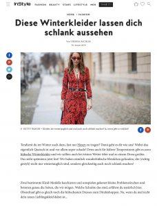 Schlank aussehen - Mit diesen Winterkleidern kein Problem - instyle Germany - 2019 01 30 - Alexandra Lapp - found on https://www.instyle.de/fashion/winterkleider-schlank-machen