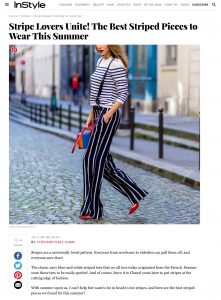 Shop Striped Clothing for Summer - InStyle com - 2017-07 - Alexandra Lapp - found on www.instyle.com/fashion/Shopping/best-stripes-to-wear-this-summer