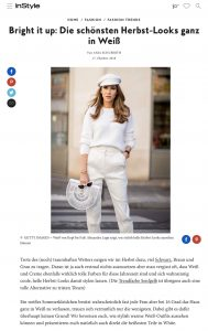 Shoppe hier wunderschöne weiße Herbst-Looks - Instyle Germany - 2018 10 17 - Alexandra Lapp - found on https://www.instyle.de/fashion/herbst-looks-ganz-in-weiss