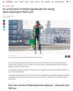 Shopping Tipps - So motzt du für wenig Geld deine Frühjahrs-Garderobe auf - InStyle - 2018 02 10 - Alexandra Lapp - found on http://www.instyle.de/fashion/fruehjahr-outfits-guenstig